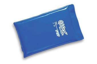 (Half 19cm x 28cm ) - Chattnooga Colpac Cold Therapy, Vinyl, (Half Size), Ref 1506 - Blue - Half 19cm x 28cm