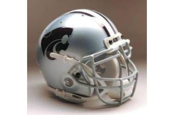 (Gray) - Kansas State Wildcats Schutt Mini Helmet
