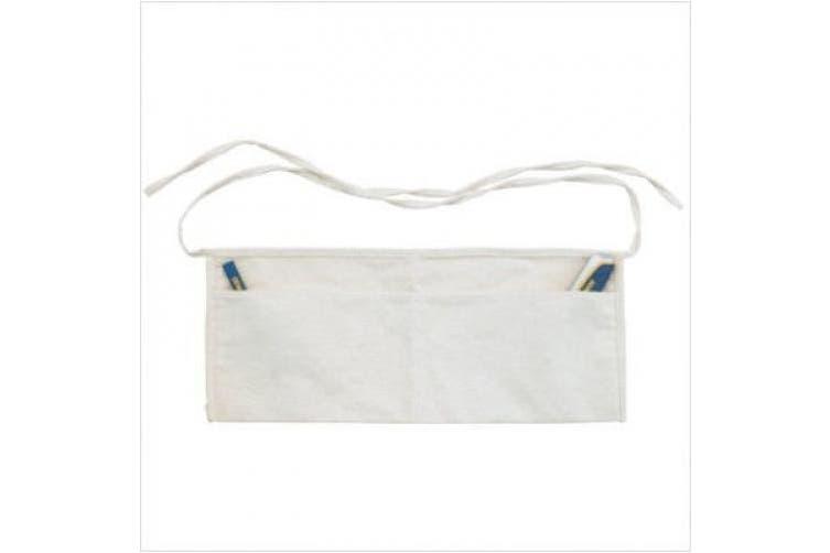(1, White) - Irwin 585-4031051 2 Pocket Cotton Nail Apron