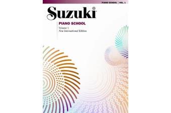 Alfred 00-0473SX Suzuki Piano School New International Edition Piano Book- Volume 1 - Music Book