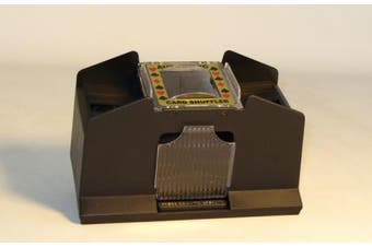 Classic Game Collection 4 Deck Automatic Card Shuffler