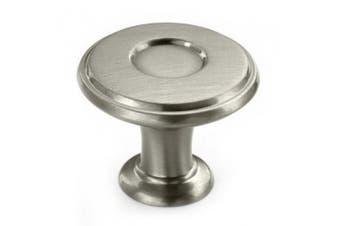 Amerock BP27026G10 Porter Round Knob - Satin Nickel