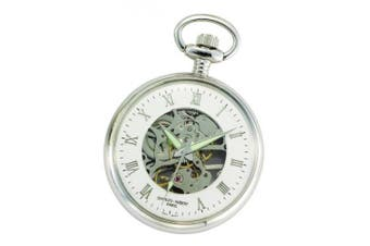 Charles-Hubert- Paris Brass Mechanical Open Face Pocket Watch #3673