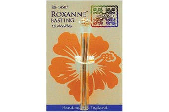 (1, Silver) - Colonial Needle 74862 Roxanne Basting Hand Needles 10-Pkg-Size 7