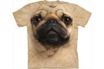 Mountain Corp 1033691 Pug Face Medium T-Shirt