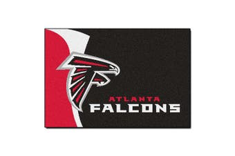 (48cm  x 80cm ) - FANMATS NFL Atlanta Falcons Nylon Face Starter Rug