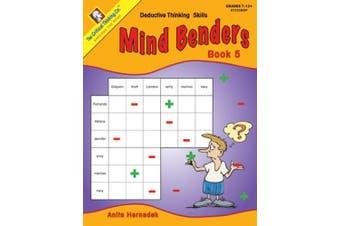 The Critical Thinking CTB01335BBP Mind Benders Book 5 School Workbook