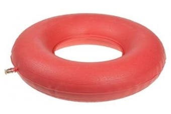 (1 each) - Carex Health Brands Fgp70300 Inflatable Rubber Ring Assorted Colours
