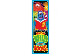 TREND ENTERPRISES INC. T-12050 WILD ABOUT BOOKS FURRY FRIENDS