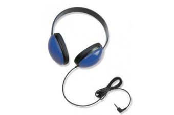 (Blue) - CALIFONE INTERNATIONAL CAF2800BL LISTENING FIRST STEREO HEADPHONES B LUE