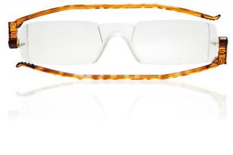 (tortoise, strength1.5) - Nannini Compact One Reading Glasses Tortoise Temples Optics 1.5