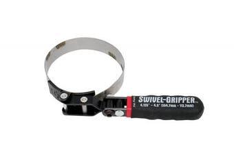 Lisle 57040 Swivel Gripper No Slip filter Wrench - Large