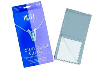 Blitz 9618 12 x 15 Silver Polishing Cleaning Care Cloth