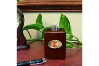 (Illinois Fighting Illini) - Memory Company Illinois Fightin Illini Paper Clip Holder
