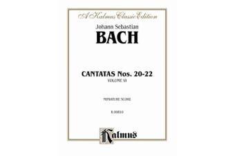 Alfred 00-K00810 Cantatas No. 20-22 - Music Book