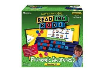 LEARNING RESOURCES LER7100 READING RODS PHONEMIC AWARENESS KIT-GR. PREK+