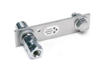 Firestik Screw-On Flat Universal CB Antenna Mount Stainless Steel - Firestik SS-124A