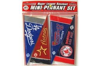 Caseys Distributing 9474618663 MLB Mini Pennant Set