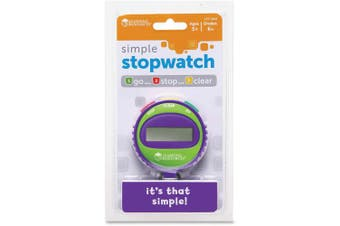 (1, N/A) - Learning Resources Simple Stopwatch, Assorted colours