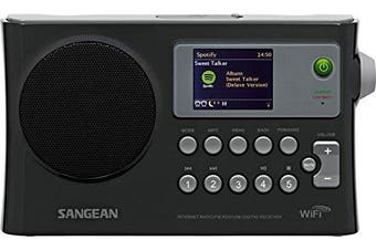 Sangean America WFR-28 Portable Wifi Internet Radio - Black