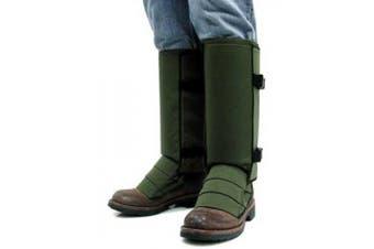 (Small, Olive Green) - Crackshot Men's Snake Guardz Socks