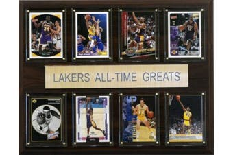 C and I Collectables 1215ATGLAL NBA Los Angeles Lakers All-Time Greats Plaque