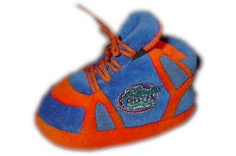 (Florida Gators) - Happy Feet and Comfy Feet OFFICIALLY licenced NCAA College Baby Slippers - UP TO 9 MONTHS