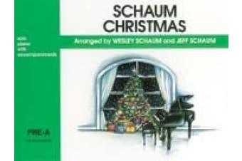Alfred 00-EL03670 Schaum Christmas- Pre-A- The Green Book - Music Book