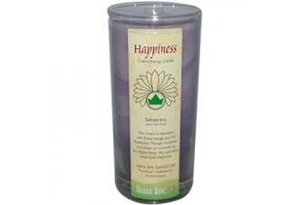 (Happiness) - Aloha Bay 0285288 Chakra Candle Jar Happiness - 11 oz