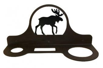 Village Wrought Iron HD-19 Hair Care Caddy - Moose Silhouette