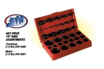 ATD Tools ATD-3600 407-Piece SAE Universal O-Ring Assortment