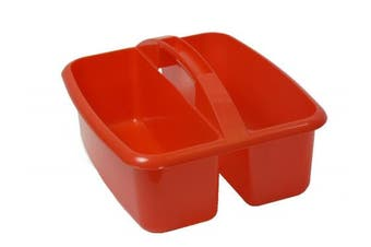 (Red) - Romanoff Products ROM26002 Large Utility Caddy Red