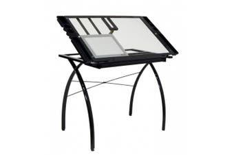 (Black) - Studio Designs 10074 Light Pad Metal Support Bars - Black