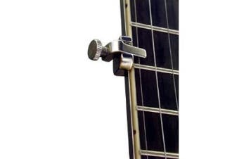 Shubb BC-25 5th String Banjo Capo - Polished Nickel