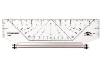 (25cm ) - Alvin 295M Professional Parallel Glider Metric 25cm