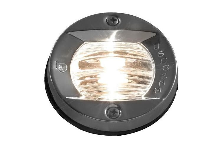 Attwood Vertical Flush Mount Transom Light - Round