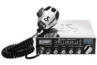 (29 LTD Chrome) - Cobra Electronics CBR29LTDCHR 40-Channel CB Radio With PA Capability