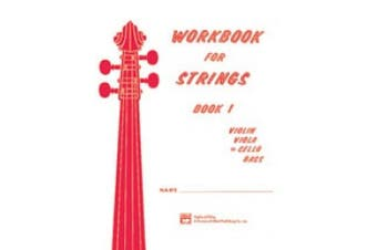 Alfred 00-13172 Workbook for Strings- Book 1 - Music Book