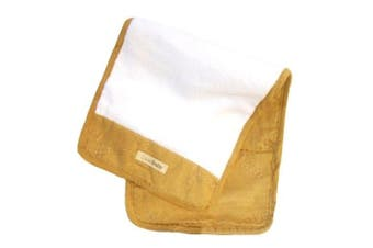 (One size, Caramel) - L'oved Baby Burp Cloth Plush
