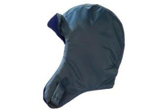 (Large, Denim) - 7 A.M. Enfant Classic Chapka Hat 500