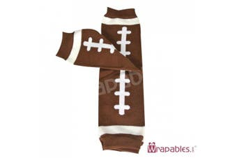 (Football) - Wrapables Animals and Fun Colourful Baby Leg Warmers