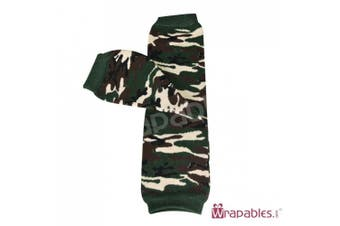(camouflage) - Wrapables Animals and Fun Colourful Baby Leg Warmers