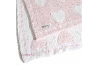 (White) - Barefoot Dreams Cozychic Dream Receiving Blanket