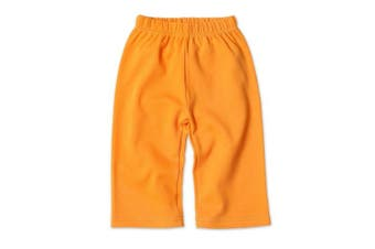 (18 Months, Orange) - Zutano Primary Solid Pant