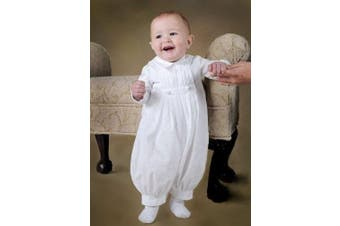 (12 Months) - Daniel Cotton Christening Baptism Blessing Outfit