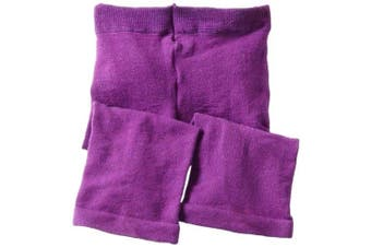 (6-18 Months, Purple) - Jefferies Socks Baby-girls Infant Capri