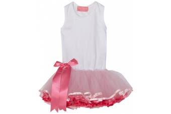 (12-18 Months, Pink) - Mud Pie Tiny Dancer Tutu Dress, Pink, 0-6 Months