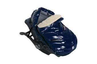 (Small, Oxford Blue) - 7 A.M. Enfant Polar Igloo Extendable Baby Bunting Bag Adaptable for Strollers