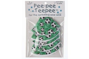 Pee-pee Teepee for Sprinkling WeeWee - Soccer with Cellophane Bag