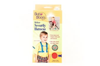 (Red) - Baby Buddy Deluxe Security Harness (Red)